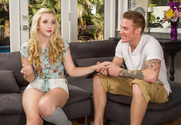 Samantha Rone & Richie Black in My Sisters Hot Friend - Sex Position 1