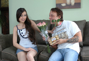 Sasha Grey & Kurt Lockwood in My Sisters Hot Friend - Sex Position 1