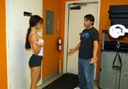 Vanessa Lane & Trent Soluri in My Sister's Hot Friend story pic