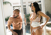Anissa Kate & Karlo Karrera in My Wife's Hot Friend story pic