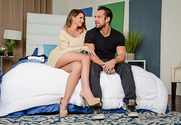 Brooklyn Chase & Johnny Castle in My Wife's Hot Friend story pic