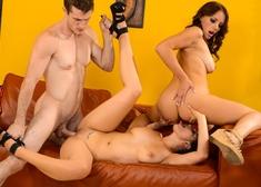 Katrina Jade, Kayla West  & Brick Danger in My Wife's Hot Friend