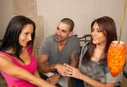 Ava Addams & Raylene & Marco Rivera in Neighbor Affair