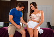 Destiny Dixon & Robby Echo in Neighbor Affair - Sex Position 1