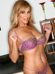 Client & MILF Porn Video with Big Tits and Blonde scenes