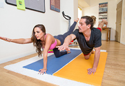 Abigail Mac & Tyler Nixon in Naughty Athletics - Sex Position 1
