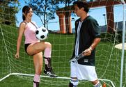 Franchezca Valentina & Alan Stafford in Naughty Athletics