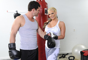 Phoenix Marie & Preston Parker in Naughty Athletics - Sex Position 1
