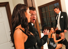 Kortney Kane & Steven St. Croix in Naughty Weddings - Centerfold