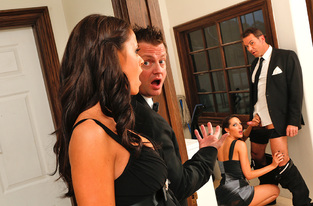 Kortney Kane & Steven St. Croix in Naughty Weddings