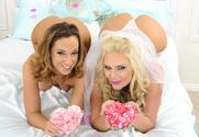 Phoenix Marie, Jada Stevens  & Johnny Castle in Naughty Weddings - Sex Position 1