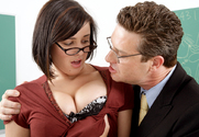 Brooke Lee Adams & Otto Bauer in Naughty Bookworms