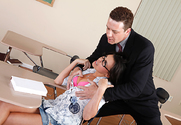 Danica Dillon & Otto Bauer in Naughty Bookworms - Sex Position 1
