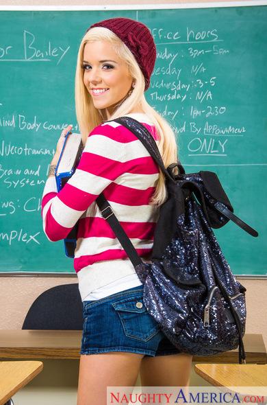 Счастливый случай трахнуть молодую студентку