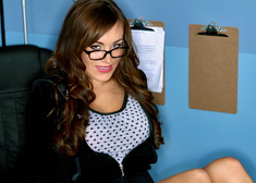 Jaclyn Case & Christian in Naughty Bookworms - Centerfold