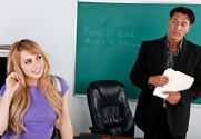 Lexi Belle & Marco Banderas in Naughty Bookworms - Sex Position 1