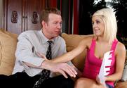 Tessa Taylor & Mark Wood in Naughty Bookworms story pic