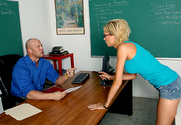 Victoria White & Christian in Naughty Bookworms