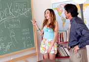 Victoria Rae Black & Tommy Gunn in Naughty Bookworms story pic