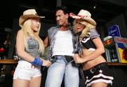 Kagney Linn Karter & Monique Alexander & Marco Banderas in Naughty Country Girls