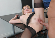 Aiden Starr & Kurt Lockwood in Naughty Office sex pic
