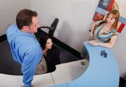 Alayna Dior & Cassandra Calogera & Alec Knight in Naughty Office
