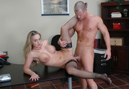 Aline & Eric Masterson in Naughty Office - Sex Position 2