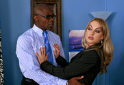 Aline & Sean Michaels in Naughty Office story pic