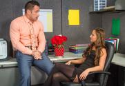 Amirah Adara  & Johnny Castle in Naughty Office - Sex Position 1
