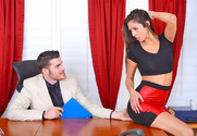 Anna Morna & Gavin Kane in Naughty Office - Sex Position 1