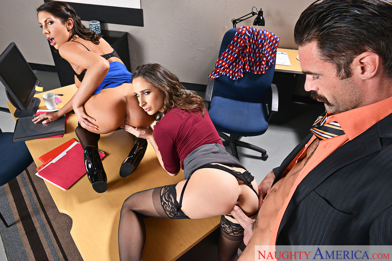 Naughty Office – ASHLEY ADAMS, AUGUST AMES, CHARLES DERA