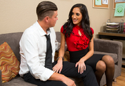 Chloe Amour  & Bradley Remington in Naughty Office - Sex Position 1