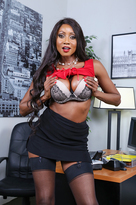 Diamond Jackson starring in Bossporn videos with American and Ass smacking
