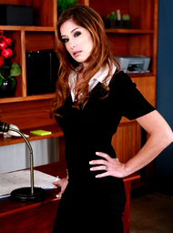 Felony & James Deen in Naughty Office - Centerfold
