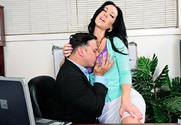 Jayden Jaymes & Anthony Rosano in Naughty Office - Sex Position 1