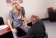 Julia Ann & Prince Yahshua in Naughty Office - Sex Position 1