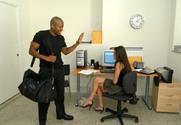 Kelli Tyler & Billy Blanks in Naughty Office story pic