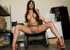 Kerry Louise & Mark Wood in Naughty Office - Centerfold