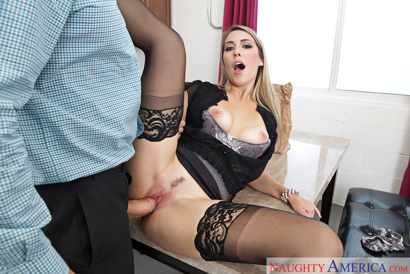 KIMBER LEE & JMAC – Naughty Office