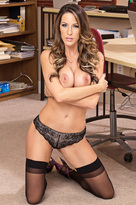 Kortney Kane starring in Co-workerporn videos with American and Ass licking