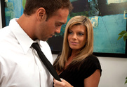 Kristal Summers & Rocco Reed in Naughty Office story pic