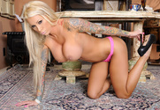 Lolly Ink  & Billy Glide in Naughty Office - Sex Position 1