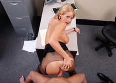 Madison James & Mark Wood in Naughty Office - Centerfold