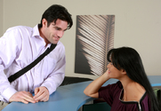 Mason Storm & Charles Dera in Naughty Office story pic