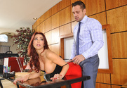 Monique Alexander & Johnny Castle in Naughty Office - Sex Position 1