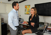 Nikki Sexx & Johnny Castle in Naughty Office story pic