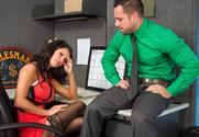 Peta Jensen & Johnny Castle in Naughty Office - Sex Position 1