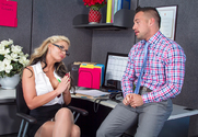 Phoenix Marie & Johnny Castle in Naughty Office - Sex Position 1
