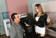 Rachel Roxxx & Billy Glide in Naughty Office - Sex Position 1