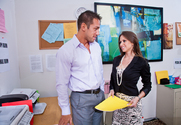 Rachel Roxxx & Johnny Castle in Naughty Office - Sex Position 1